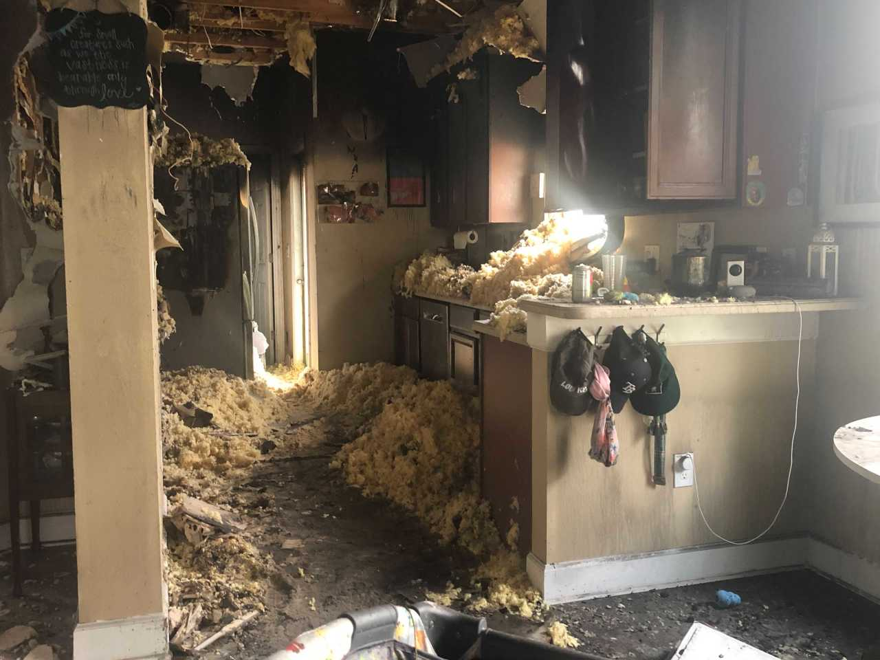 34-year-old cancer patient loses home to fire
